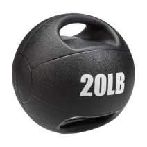 AmazonBasics Grip Ball for Workouts Exercise Balance Training