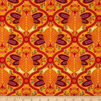 FreeSpirit Fabrics FreeSpirit Tula Pink All Stars Bee Marigold Fabric by The Yard
