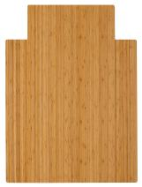 Anji Mountain Standard Bamboo Roll-Up Chairmat, 36 x 48-Inch, 8mm Thick, Natural
