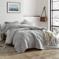 Byourbed Coma Inducer Oversized Queen Comforter - The Original Plush - Silver Stone