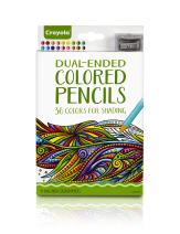 Crayola Dual-Ended Colored Pencils, Adult Coloring Tools, 36 Count (68-6818`)