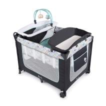 Ingenuity Smart & Simple Portable Packable Playard with Changing Table, Bryant