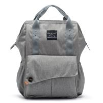 SoHo NoLita Diaper Bag Backback 3Pc - Gray