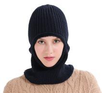 Runtlly Windproof Ski Face Mask Winter Hats Warm Knitted Balaclava Beanie Hat
