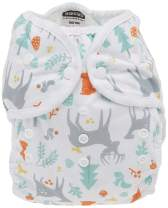 Thirsties Duo Wrap Cloth Diaper Cover, Snap Closure, Woodland Size Two (18-40 lbs)