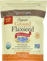 Spectrum Essentials Organic Ground Flaxseed, 24 oz.