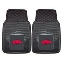 FANMATS NCAA University of Arkansas Razorbacks Vinyl Heavy Duty Car Mat