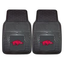 FANMATS NCAA University of Arkansas Razorbacks Vinyl Heavy Duty Car Mat