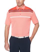 Callaway Mens Opti-dri Blocked Short Sleeve Golf Polo