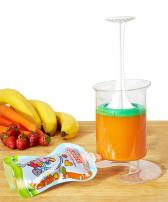 Baby Food Maker   Baby Food Mill and Masher with resqueeze Reusable Food Pouch for Freezer Storage - Blends Healthy Homemade Baby Food in Minutes   Mom Invented - Baby Led Feeding   Fill n Squeeze
