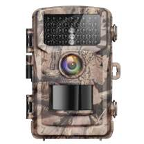 Campark 4K Lite Trail Camera-20MP Game Hunting Camera with 120°Wide-Angle 42pcs IR LEDs Infrared Night Vision and IP56 Waterproof for Wildlife Monitoring