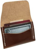 Faler Brand Minimalist Card Case - Minimalist Wickett & Craig Leather Fold Credit Card Wallet