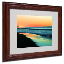 Good Morning Artwork by Beata Czyzowska Young, 11 by 14-Inch, Wood Frame