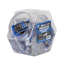 Vibra-TITE 121 Medium Strength Removable Anaerobic Threadlocker Fish Bowl, 2ml Bullet Tubes, Blue, 100 pieces