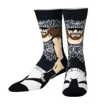Odd Sox, Unisex, WWE Legends, Wrestling Socks, Crazy Novelty Cool Fun Dress Sock