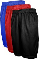 OLLIE ARNES Mesh Basketball Shorts for Men, Athletic Gym Workout Short with Pockets (S-6X)