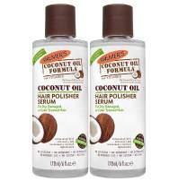 Palmer's Coconut Oil Formula Hair Polisher Serum | 6 Ounces (Pack of 2)