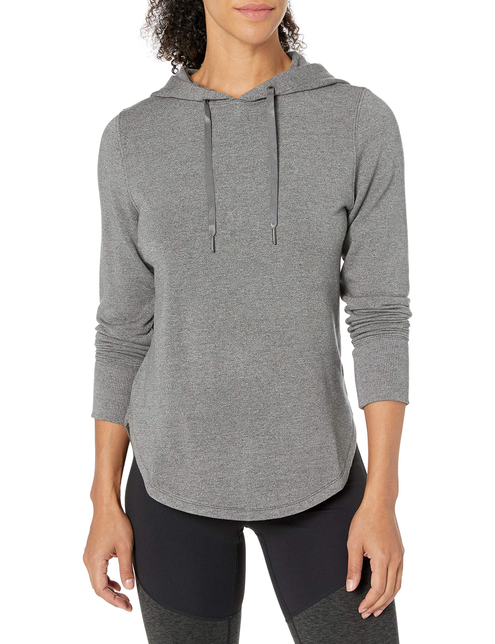 Amazon Brand - Core 10 Women's (XS-3X)Cloud Soft Yoga Fleece Hoodie Sweatshirt