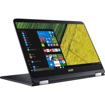 Acer Spin 7 2-In-1 Convertible UltraBook - 14in Corning Gorilla Glass 4 IPS TouchScreen Full HD (1920x1080), Intel Core i7-7Y75, 256GB SSD, 8GB RAM, Type-C, Windows 10 (Renewed)