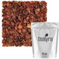 Tealyra - Pure Rosehips - Loose Leaf Tea - Healthy Drink - Vitamen Rich - Caffeine-Free - 100% Natural - Hot or Iced - 224g (8-ounce)