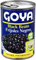 Goya Foods Black Beans, 15.5-Ounce (Pack of 24)