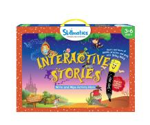 Skillmatics Educational Game: Interactive Stories (3-6 Years)    Erasable and Reusable Activity Mats   Fun Learning Tools for Kids