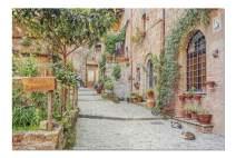 Tuscany, Italy - Street Scene 9002387 (19x27 Premium 1000 Piece Jigsaw Puzzle, Made in USA!)