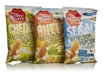 Tiny But Mighty Popped Popcorn Variety Pack (1 Sea Salt, 1 Butter, 1 White Cheddar)
