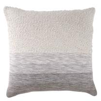 Peri Home Woven Ombre Decorative Pillow, 18 x 18, Grey