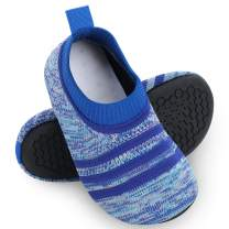 Kids Toddler Slipper Socks with Rubber Sole Non-Slip Knit Lightweight House Slippers for Boys Girls