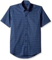 Amazon Brand-  BUTTONED DOWN Men's Slim Fit Button-Collar Short-Sleeve Stretch Shirt, Supima Cotton Non-Iron