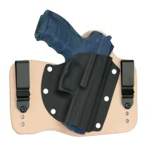 FoxX Holsters Heckler & Koch HK P30 in The Waistband Hybrid Holster Tuckable, Concealed Carry Gun Holster