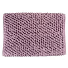 """DII Ultra Soft Plush Spa Microfiber Shag Chenille Bath Mat Place in Front of Shower, Vanity, Bath Tub, Sink, and Toilet, 21 x 34"""" - Mauve Solid"""