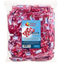 Airheads Bulk - Bulk Candy - Air Heads Mini Bars Cherry Flavor Chewy Fruit Candies - Red Candy - 2 lb Party Bag, Family Size