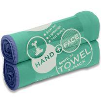 SportLite Sport Towel – Hand Towel – Beach Towel – Travel Towel – 100% Microfiber Technology – Ultra-Light & Fast Drying – Multiple Colors