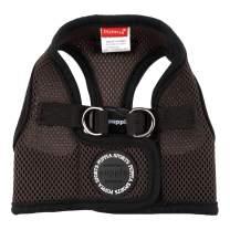 PUPPIA International Harness Soft B Vest, Medium, Brown