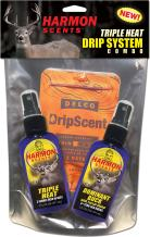 Harmon Scents - Triple Heat Drip System - Combo Pack - CCHTHDBK - Deer Hunting Scents - Whitetail Scents - Trophy Buck