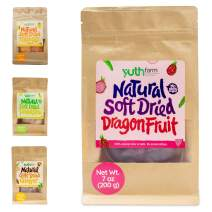 Yuthfarm – Soft Dried Dragon Fruit 7 Oz On The Go Pack – Organic Dried Dragon Fruit, Dried Fruit Snacks, Non GMO, No Artificial Flavor and Preservatives, Nutritious and Healthy Snack