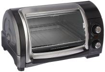 Hamilton Beach (31334) Toaster Oven, Pizza Maker, Electric, Gray