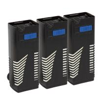 Koller Products Filter Cartridge Pre-Assembled fits Tom Mini Power Filter (TM1250), 3-Pack