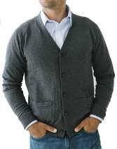 Hope & Henry Mens' Cardigan Sweater