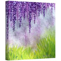 Art Wall 'Mellow Morning' Gallery Wrapped Canvas Artwork by Herb Dickinson, 18 by 18-Inch