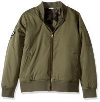 Lucky Brand Boys' Bomber Reversible Jacket