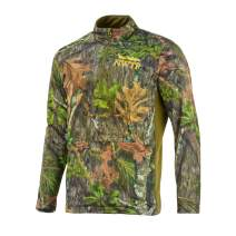Nomad NWTF Fleece 1/4 Zip, Mossy Oak Obsession, Small