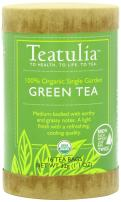 Organic Teatulia Green 6 units x 16 Unwrapped Premium Pyramids