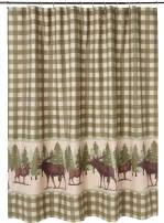 Greenland Home Moose Creek Shower Curtain, 72x72-inch, Multi