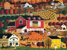 Buffalo Games - Charles Wysocki - Butternut Farms - 1000 Piece Jigsaw Puzzle