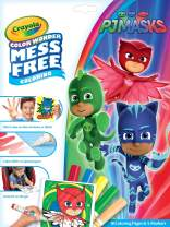 Crayola Color Wonder PJ Masks Coloring Pages, Mess Free Coloring, Gift for Kids, Age 3, 4, 5, 6