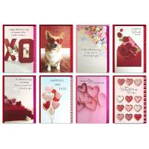 Hallmark Valentines Day Cards Assortment, Extra Sweet (8 Valentine's Day Cards with Envelopes)