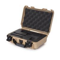 Nanuk Waterproof Hard Case for Revolvers with Custom 3UP Foam Insert